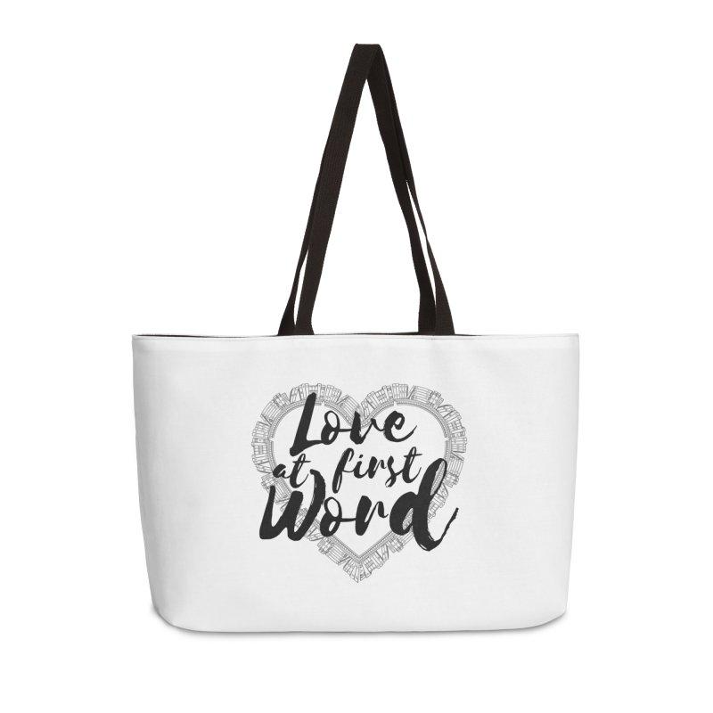 Design #7 Accessories Weekender Bag Bag by EarnestWrites