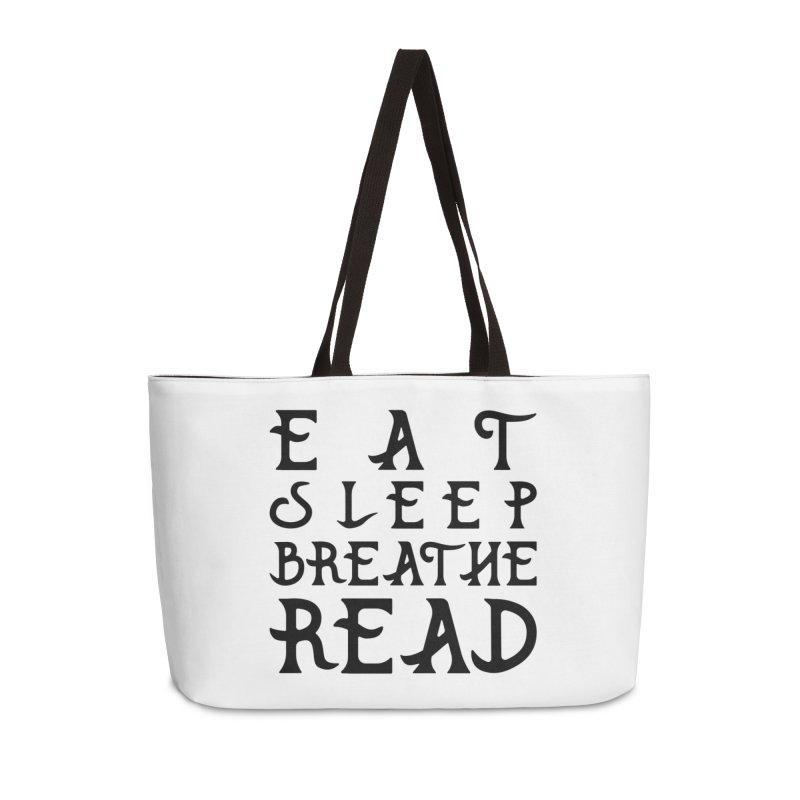 Design #8 (read variant) Accessories Weekender Bag Bag by EarnestWrites