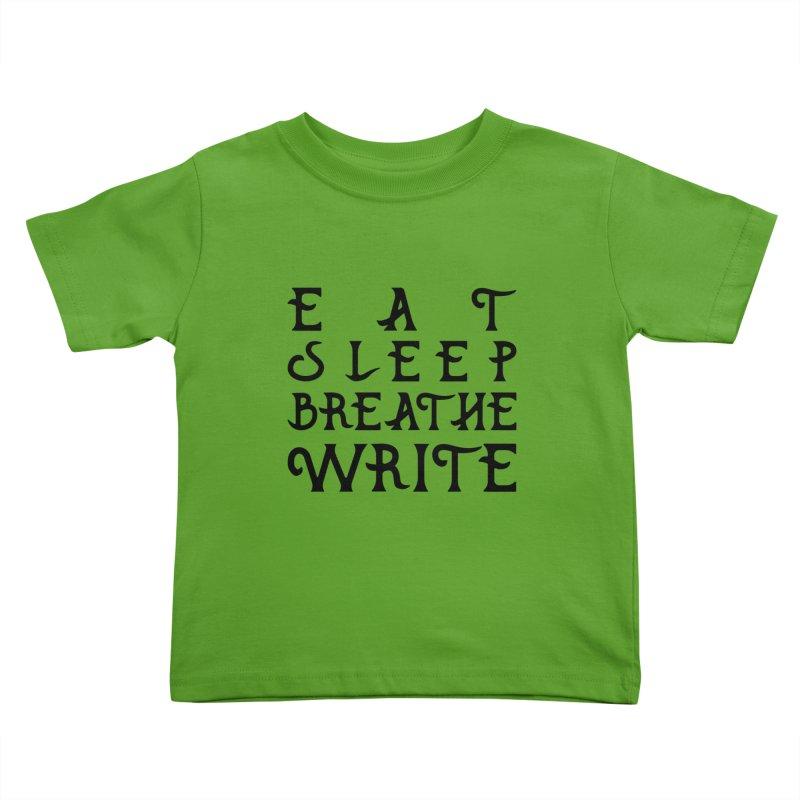 design #8 (write variant) Kids Toddler T-Shirt by EarnestWrites