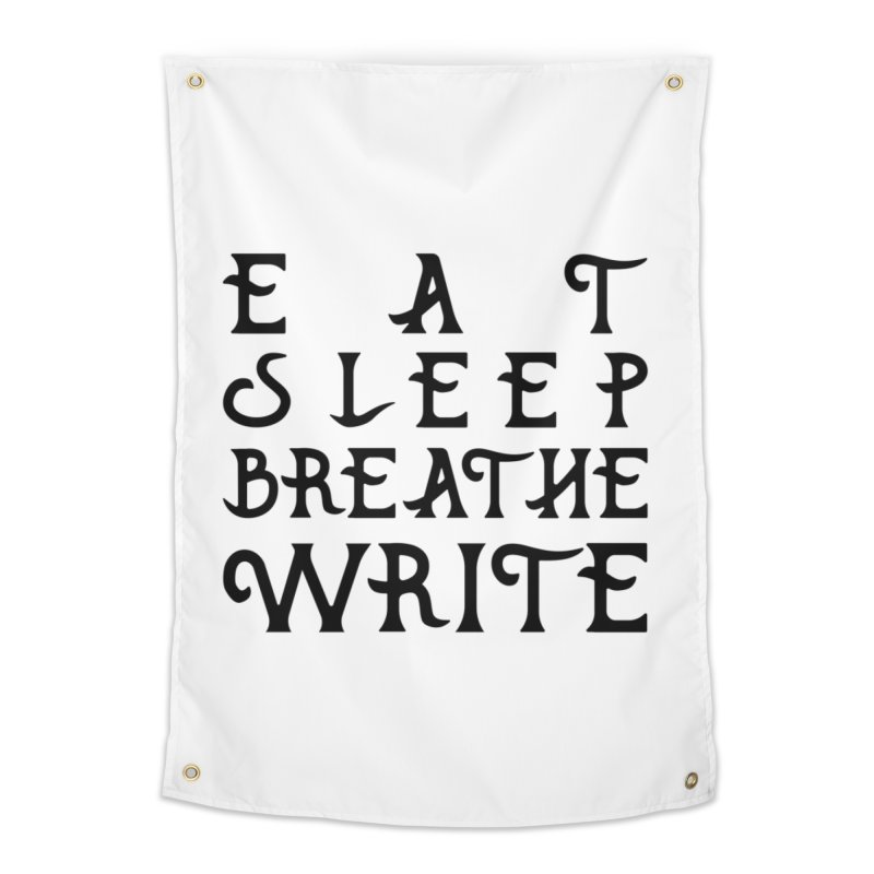 design #8 (write variant) Home Tapestry by EarnestWrites