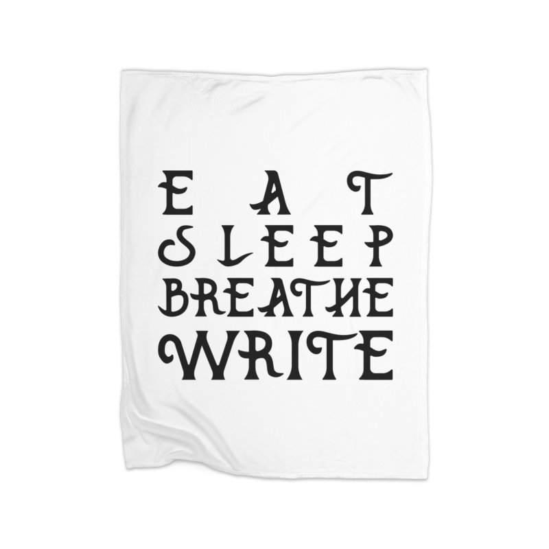 design #8 (write variant) Home Blanket by EarnestWrites