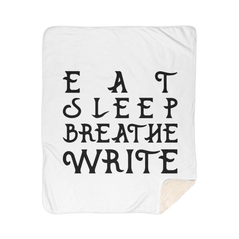 design #8 (write variant) Home Sherpa Blanket Blanket by EarnestWrites