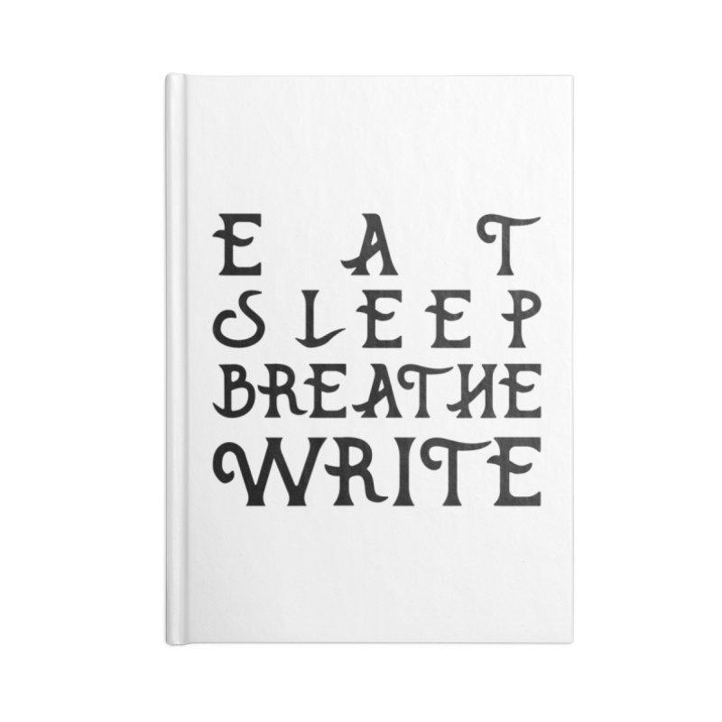 design #8 (write variant) Accessories Notebook by EarnestWrites