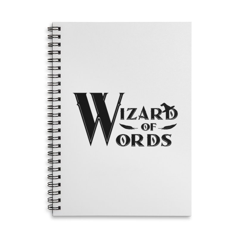 Design #9 Accessories Lined Spiral Notebook by EarnestWrites