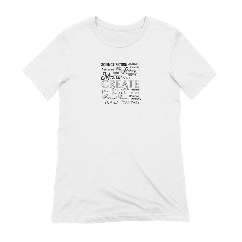 Design #10 Women's Extra Soft T-Shirt by EarnestWrites