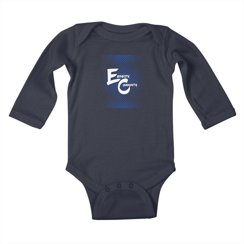 Design #12 Kids Baby Longsleeve Bodysuit by EarnestWrites