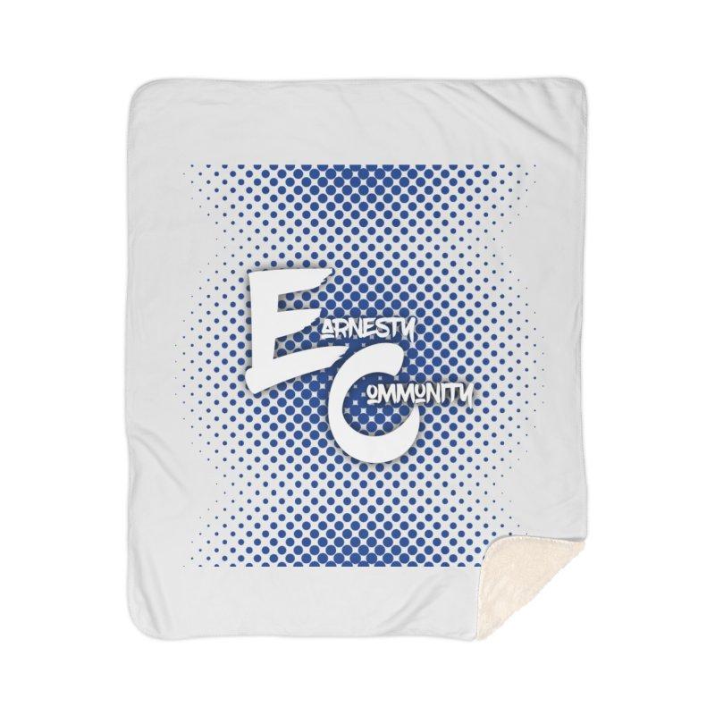 Design #12 Home Sherpa Blanket Blanket by EarnestWrites