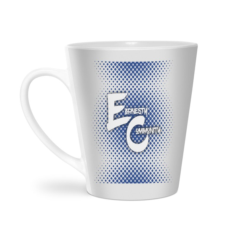 Design #12 Accessories Latte Mug by EarnestWrites