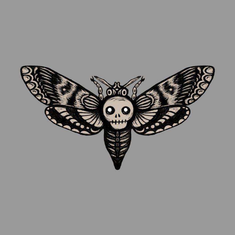 Skull Moth Flight by Earthenwood's Artist Shop