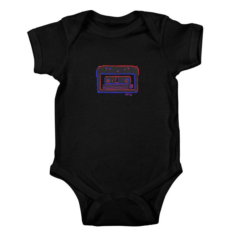 my new mixtape Kids Baby Bodysuit by EarthtoMonica