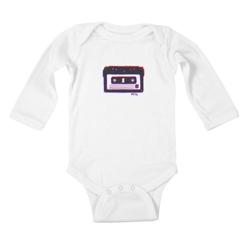 my new mixtape Kids Baby Longsleeve Bodysuit by Earthtomonica's Artist Shop