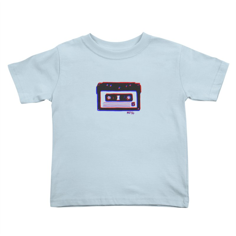 my new mixtape Kids Toddler T-Shirt by EarthtoMonica