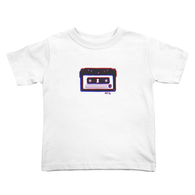 my new mixtape Kids Toddler T-Shirt by Earthtomonica's Artist Shop
