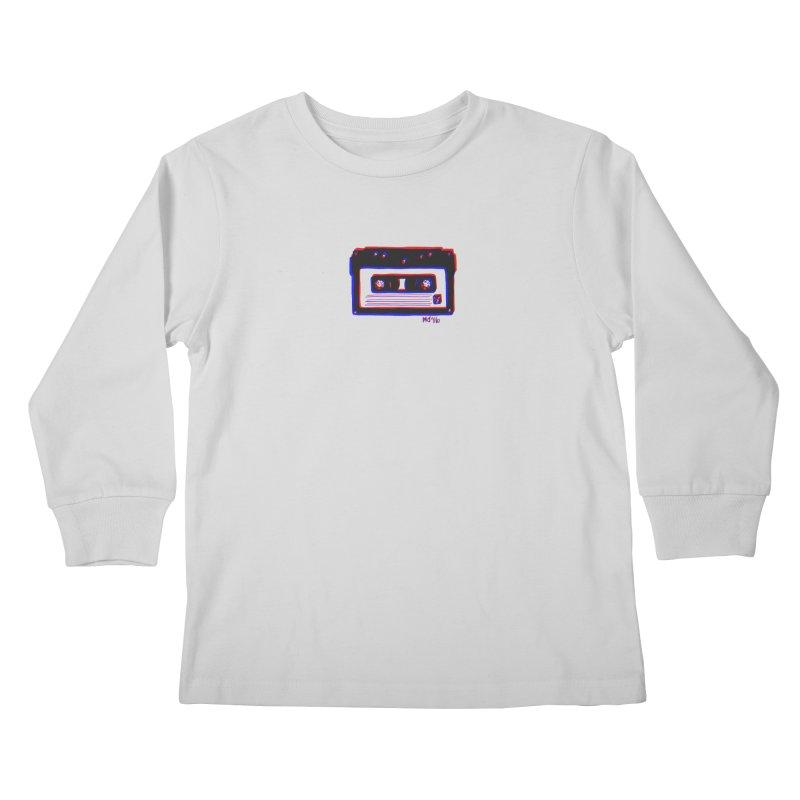 my new mixtape Kids Longsleeve T-Shirt by EarthtoMonica