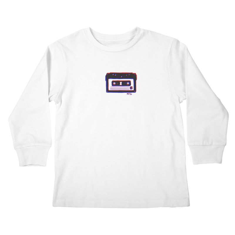 my new mixtape Kids Longsleeve T-Shirt by Earthtomonica's Artist Shop