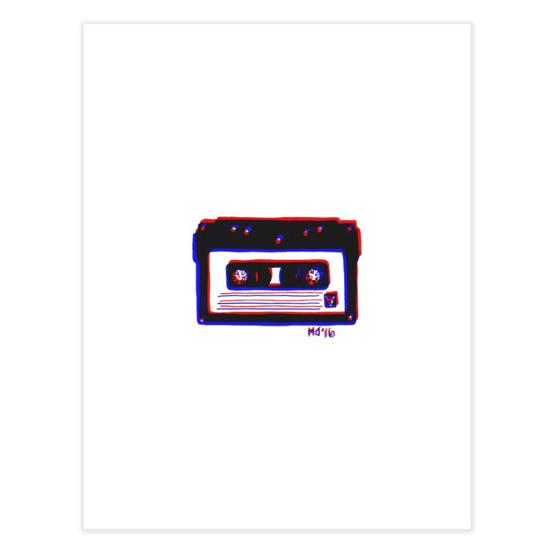 my new mixtape Home Fine Art Print by EarthtoMonica