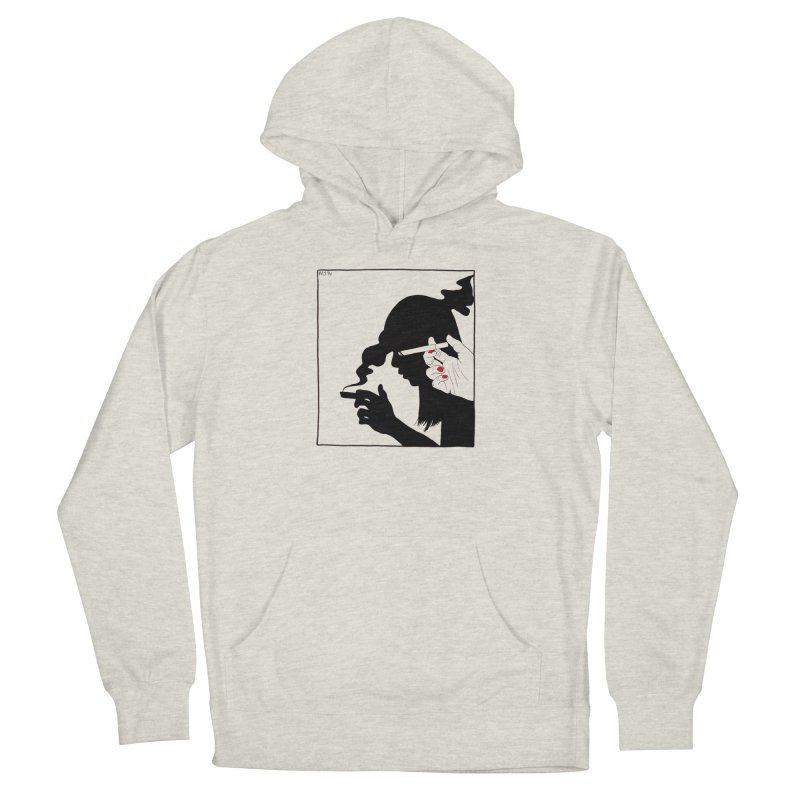 shadow babe Women's Pullover Hoody by Earthtomonica's Artist Shop