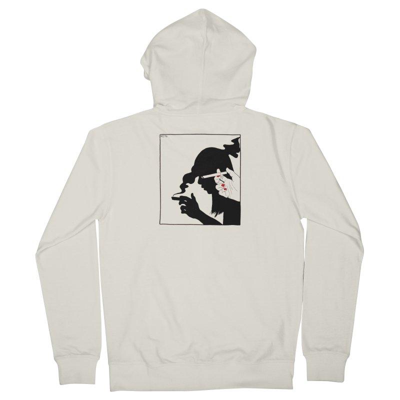 shadow babe Women's Zip-Up Hoody by Earthtomonica's Artist Shop
