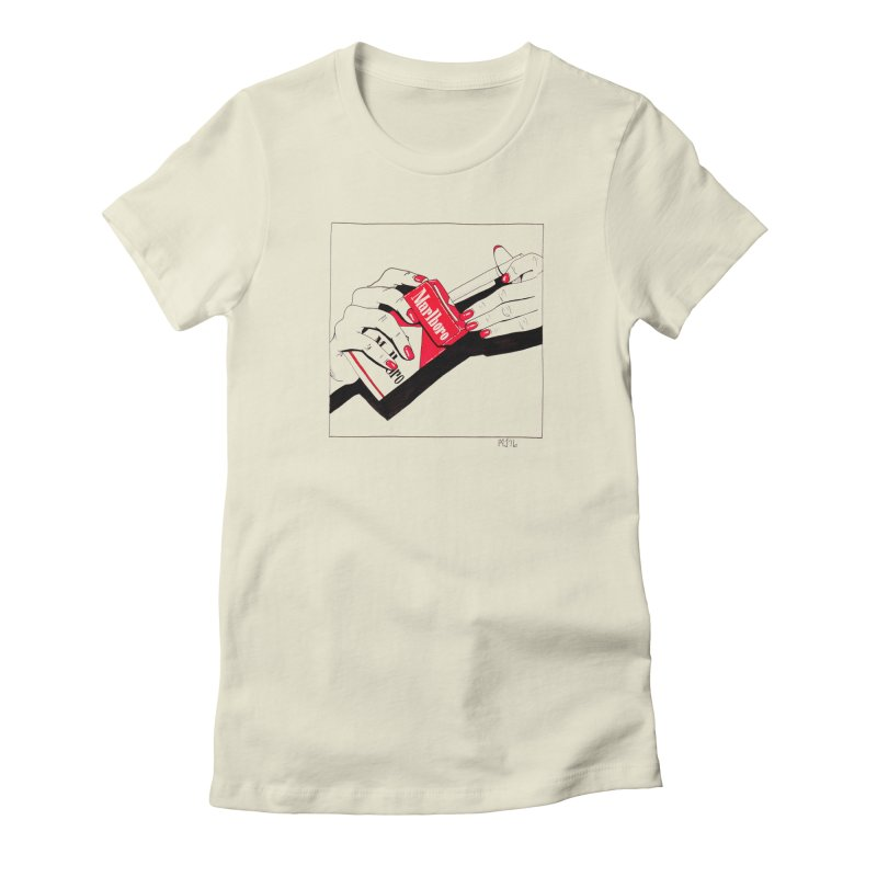 welcome to marlboro country Women's Fitted T-Shirt by Earthtomonica's Artist Shop