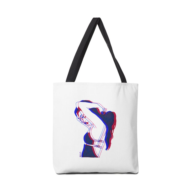 take me to your bedroom, i'm ready Accessories Tote Bag Bag by EarthtoMonica