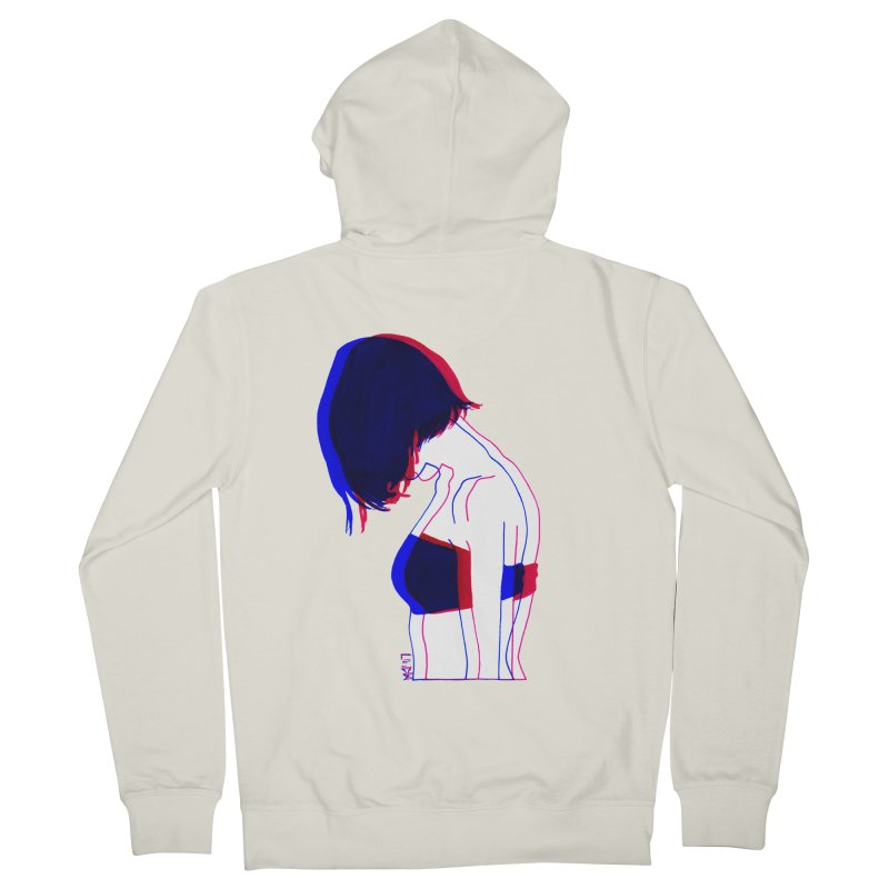 you know, i think of her sometimes Men's Zip-Up Hoody by Earthtomonica's Artist Shop