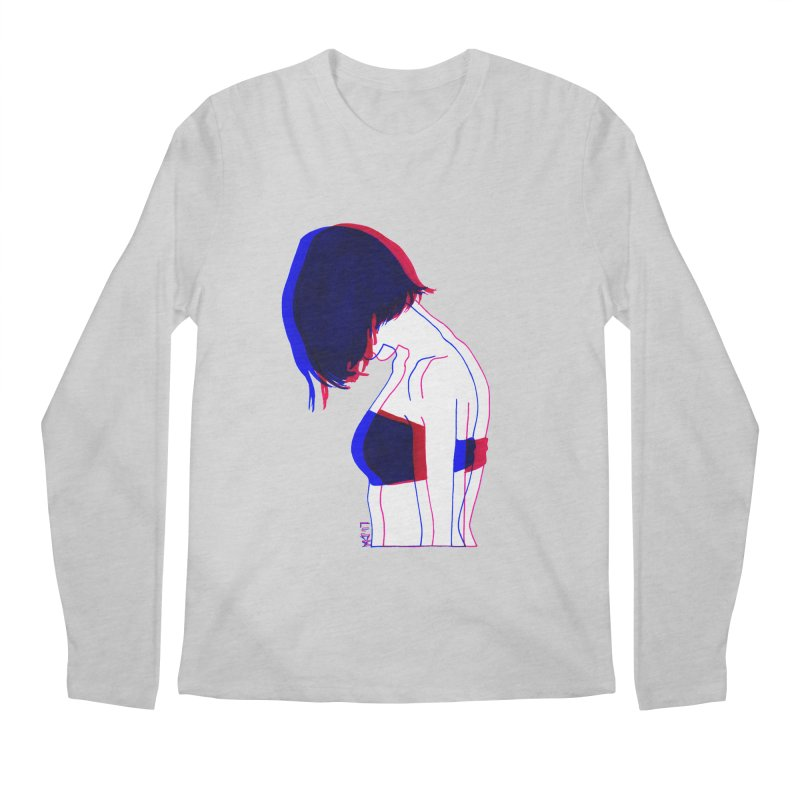 you know, i think of her sometimes Men's Longsleeve T-Shirt by Earthtomonica's Artist Shop