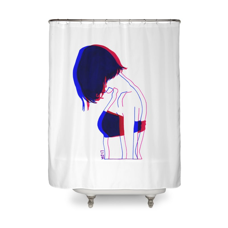 you know, i think of her sometimes Home Shower Curtain by Earthtomonica's Artist Shop