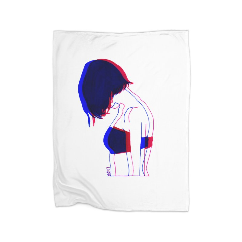 you know, i think of her sometimes Home Blanket by Earthtomonica's Artist Shop