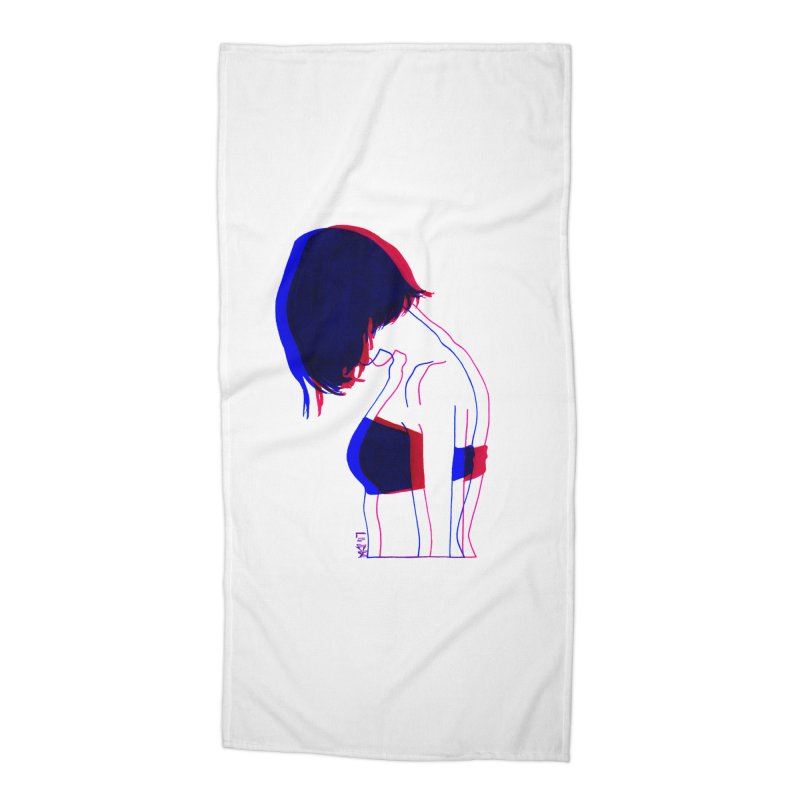 you know, i think of her sometimes Accessories Beach Towel by Earthtomonica's Artist Shop