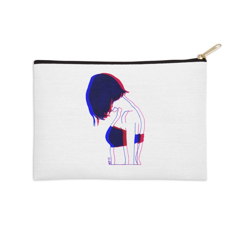 you know, i think of her sometimes Accessories Zip Pouch by Earthtomonica's Artist Shop