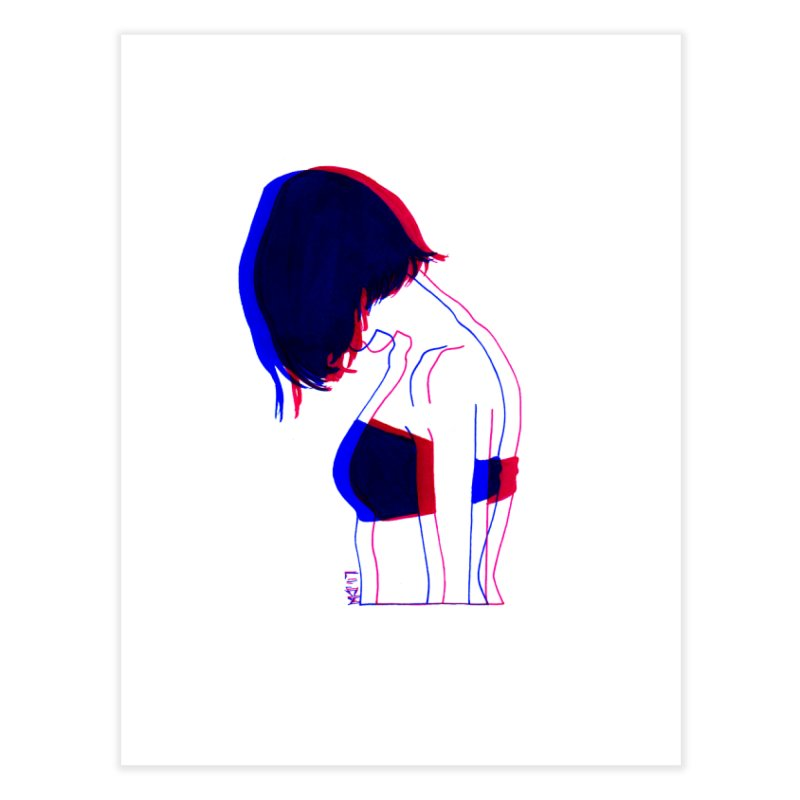 you know, i think of her sometimes Home Fine Art Print by Earthtomonica's Artist Shop