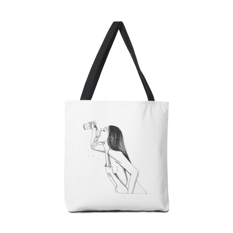 beer babe Accessories Bag by Earthtomonica's Artist Shop