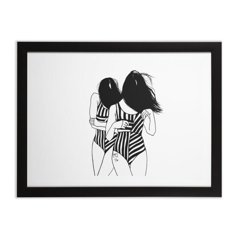 it's chill Home Framed Fine Art Print by Earthtomonica's Artist Shop