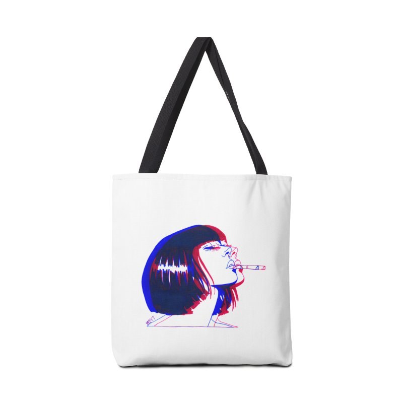 and if you'll wait for me, ill give you everything. if i could light my cigarette Accessories Tote Bag Bag by EarthtoMonica