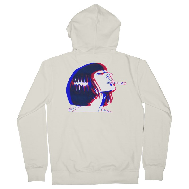 and if you'll wait for me, ill give you everything. if i could light my cigarette Men's Zip-Up Hoody by Earthtomonica's Artist Shop
