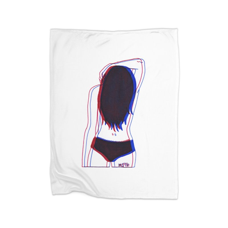she was the first penitentiary that i'd ever seen Home Blanket by Earthtomonica's Artist Shop