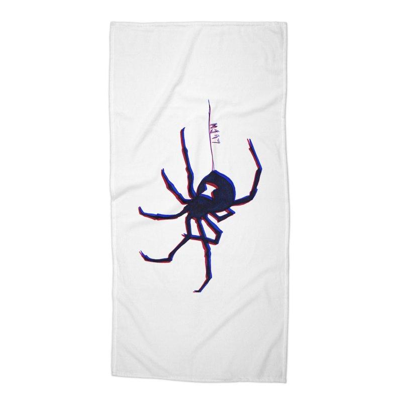 maneater Accessories Beach Towel by Earthtomonica's Artist Shop