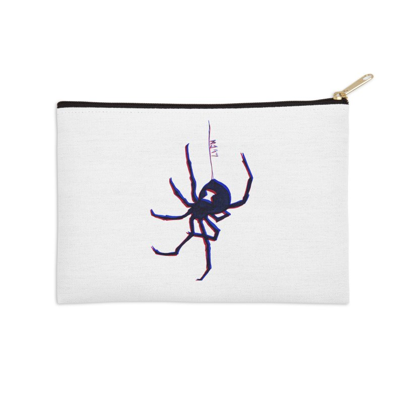 maneater Accessories Zip Pouch by Earthtomonica's Artist Shop
