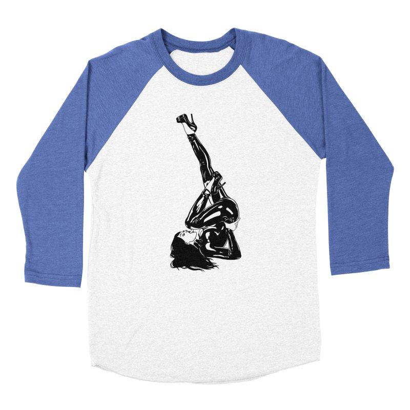 smuttycakes Women's Baseball Triblend T-Shirt by Earthtomonica's Artist Shop