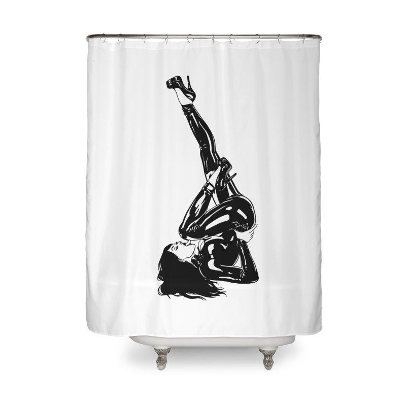 smuttycakes Home Shower Curtain by Earthtomonica's Artist Shop