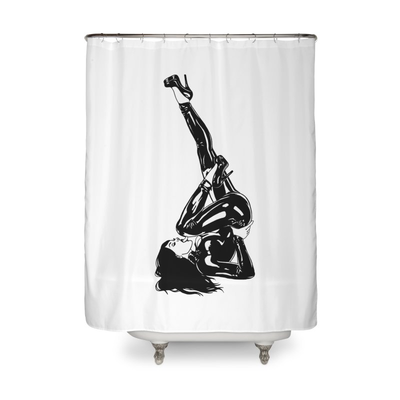 smuttycakes Home Shower Curtain by Earthtomonica's Artist Shop