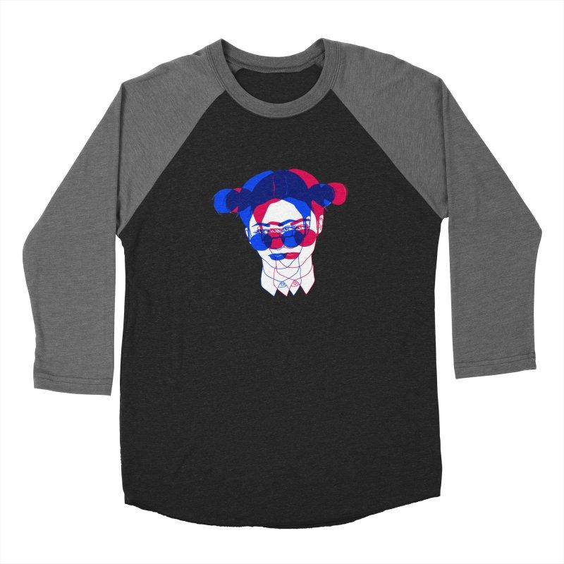 space bun girl Women's Longsleeve T-Shirt by EarthtoMonica