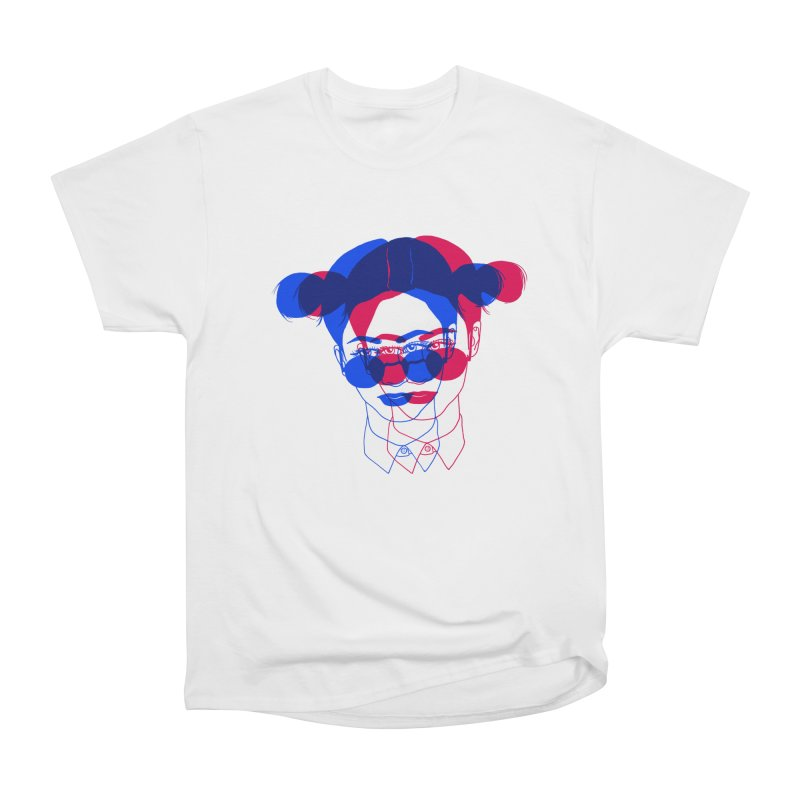 space bun girl Women's Classic Unisex T-Shirt by Earthtomonica's Artist Shop