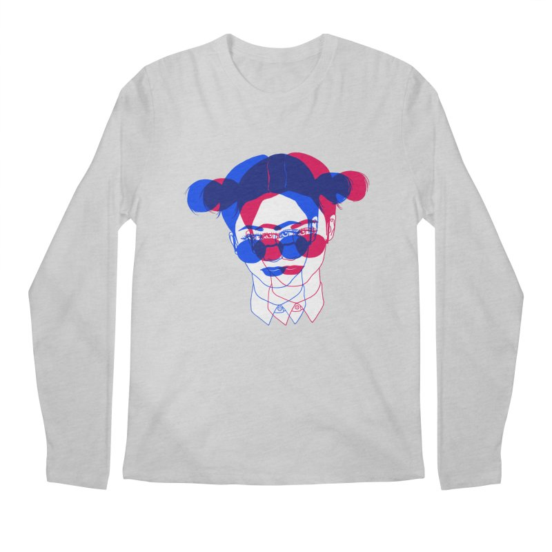 space bun girl Men's Regular Longsleeve T-Shirt by EarthtoMonica