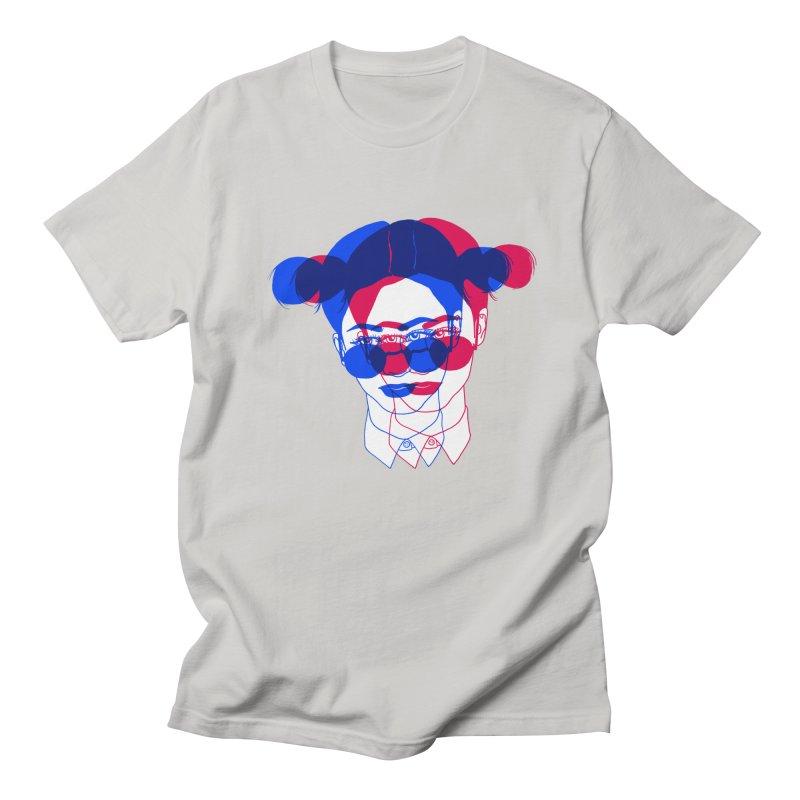 space bun girl Women's Unisex T-Shirt by Earthtomonica's Artist Shop