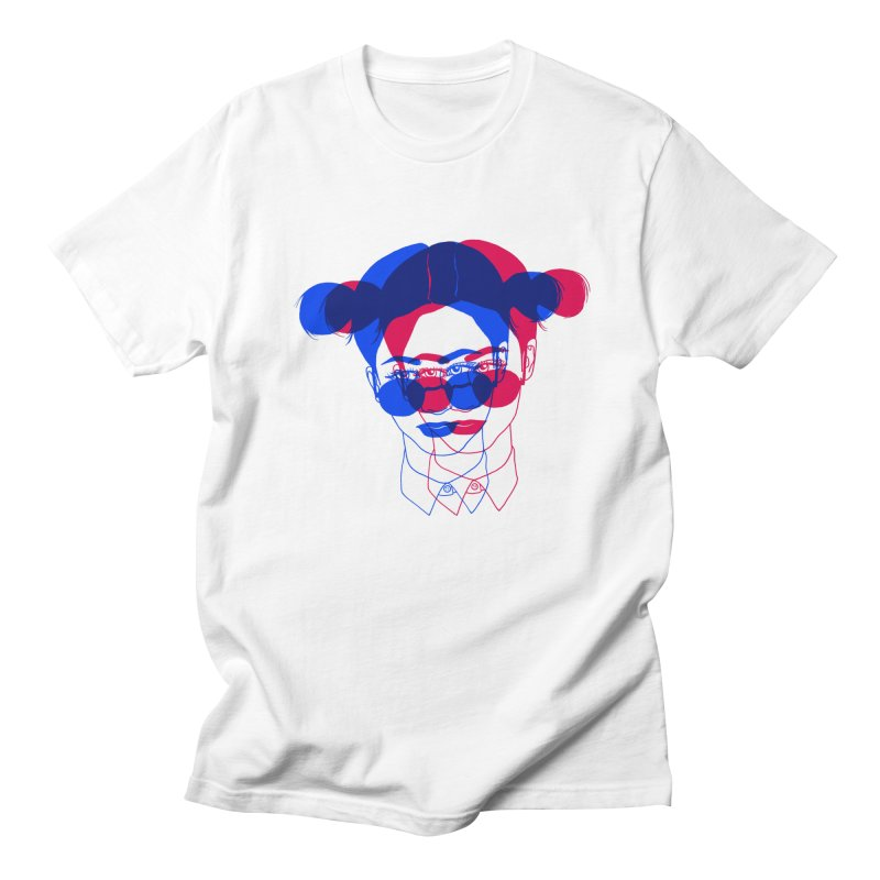 space bun girl Women's Regular Unisex T-Shirt by EarthtoMonica