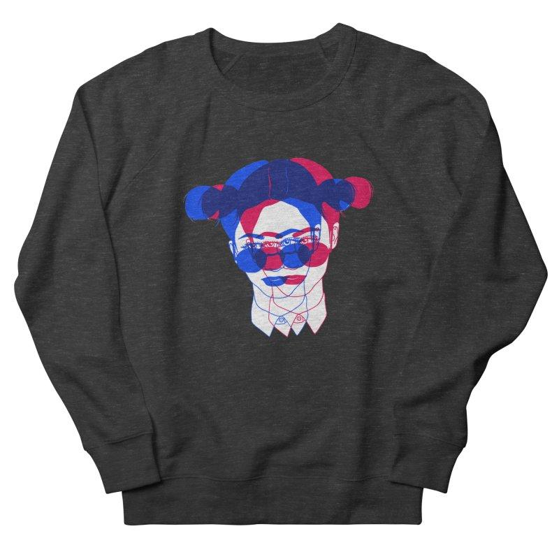 space bun girl Men's Sweatshirt by Earthtomonica's Artist Shop