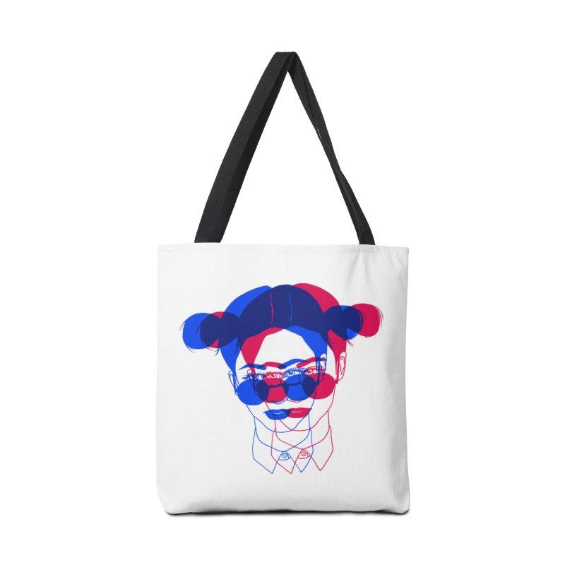 space bun girl Accessories Bag by Earthtomonica's Artist Shop