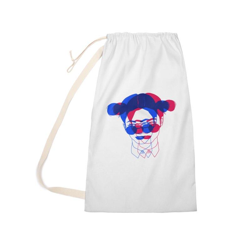 space bun girl Accessories Bag by EarthtoMonica