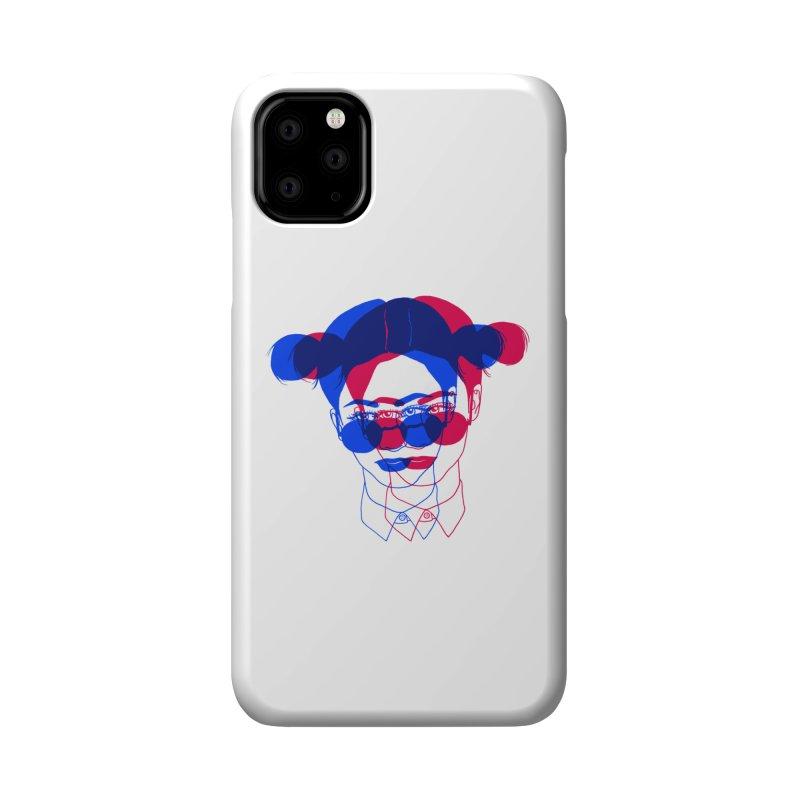 space bun girl Accessories Phone Case by EarthtoMonica